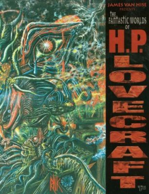 The Fantastic Worlds of H.P. Lovecraft, de James Van Hise (ed.)