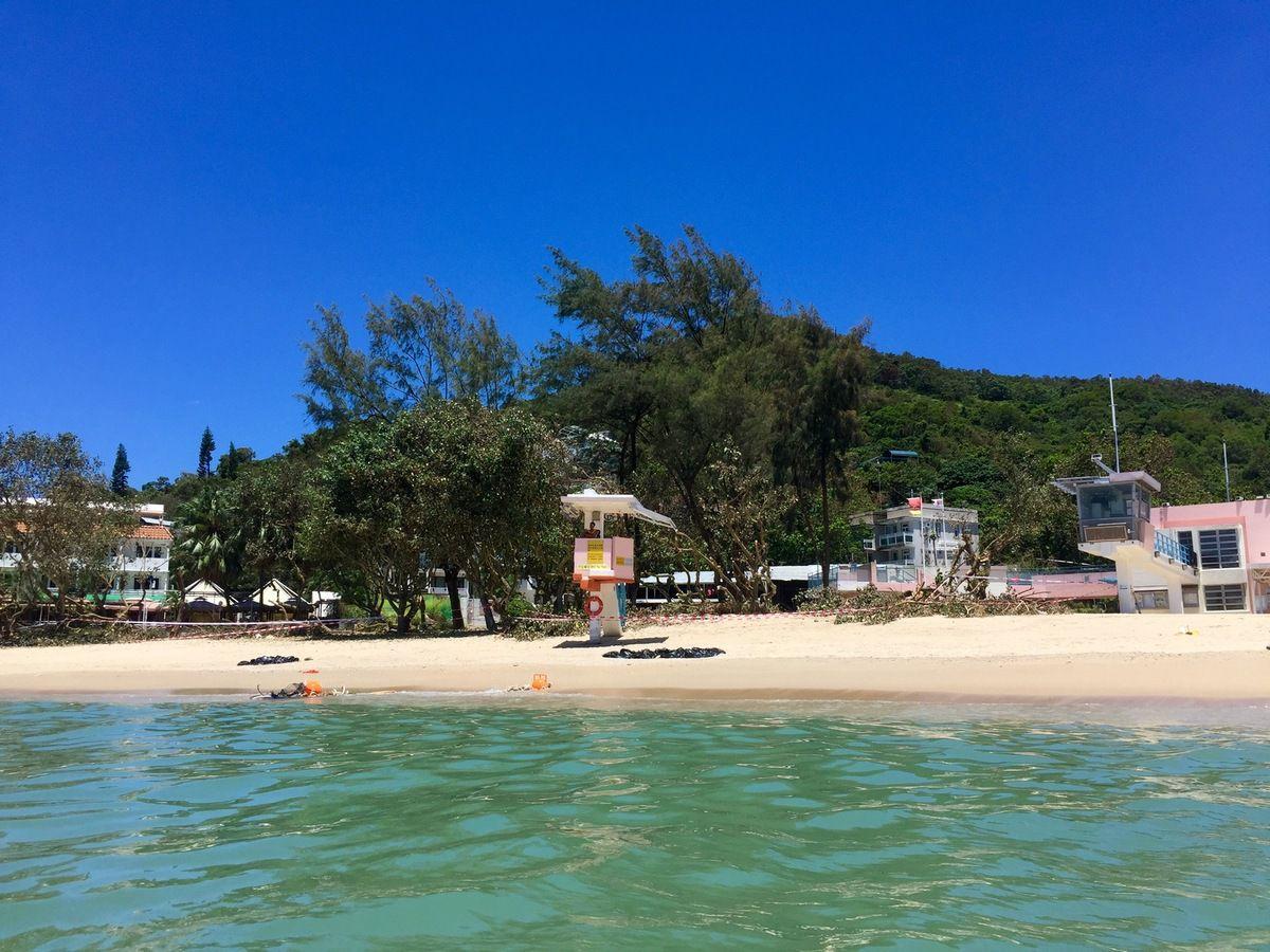 Plage de Hung Sing Ye Beach - Lamma Island