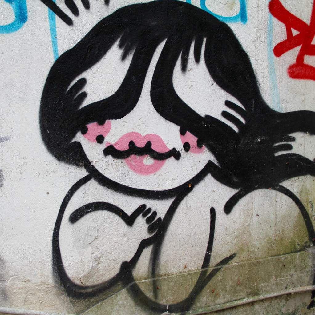 Street Art - Hollywood Road