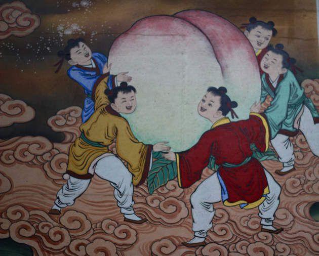 Bongeunsa temple - l'iconographie