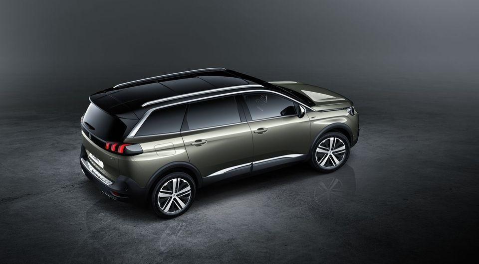 Le nouveau Peugeot 5008 (2017)
