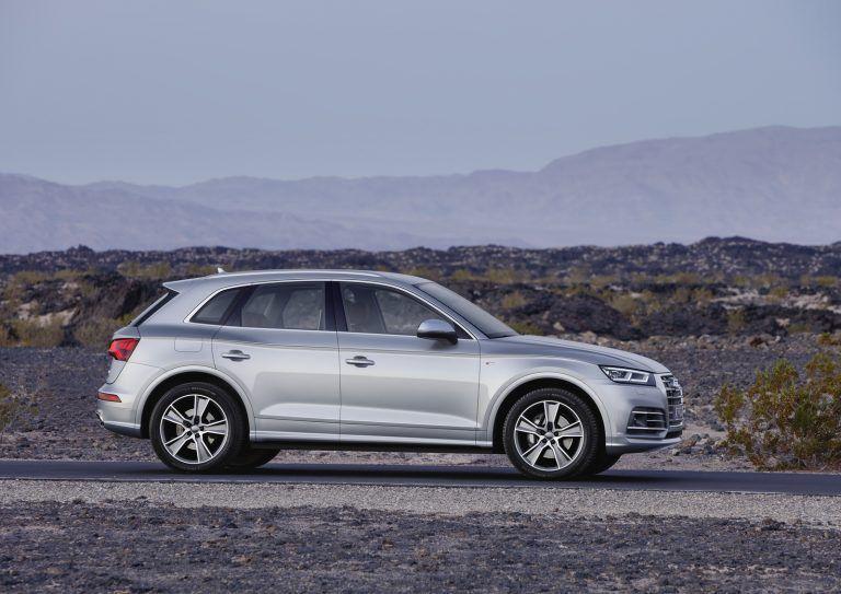 Le nouveau Audi Q5 (2017).