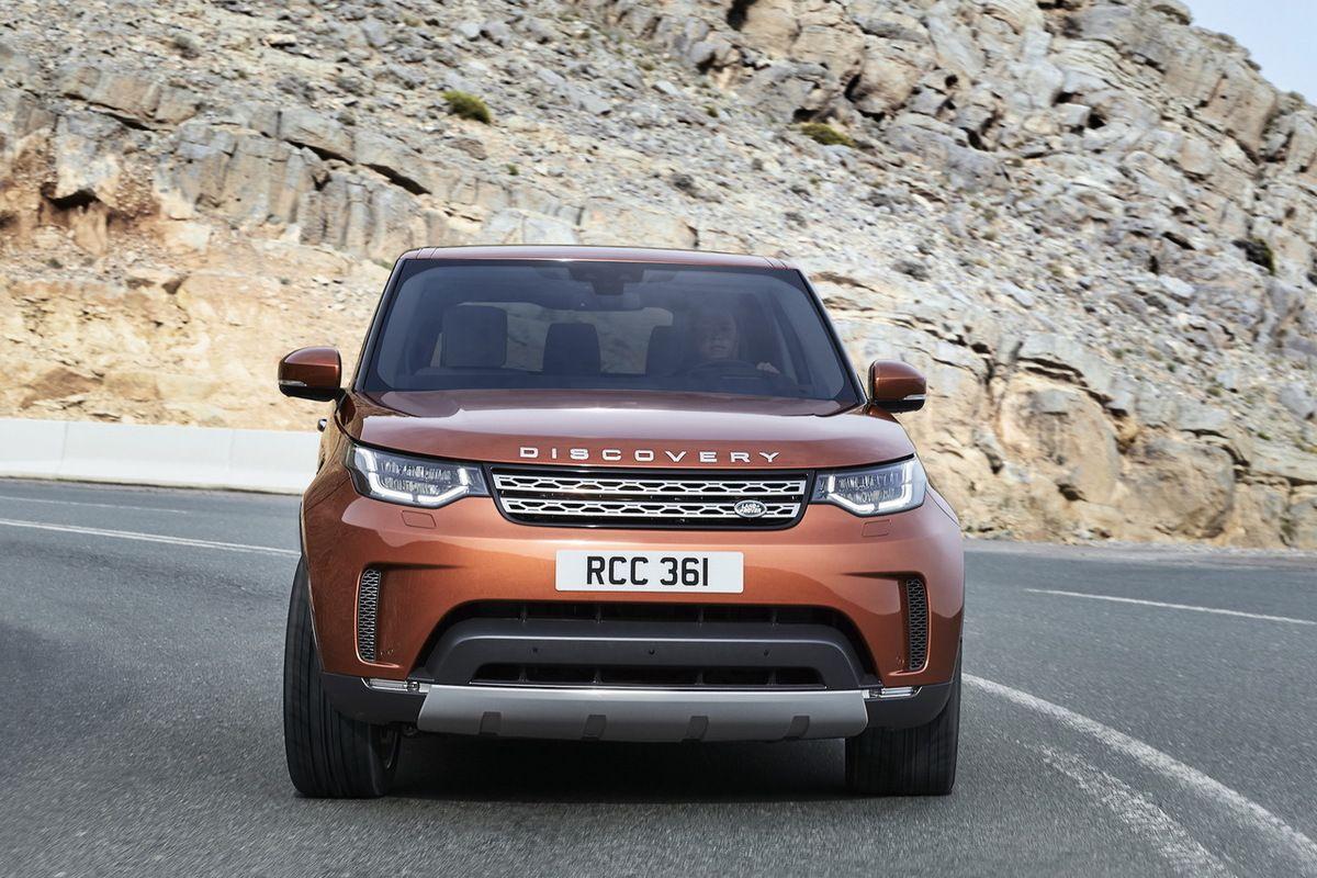 Le nouveau Land Rover Discovery (2017).