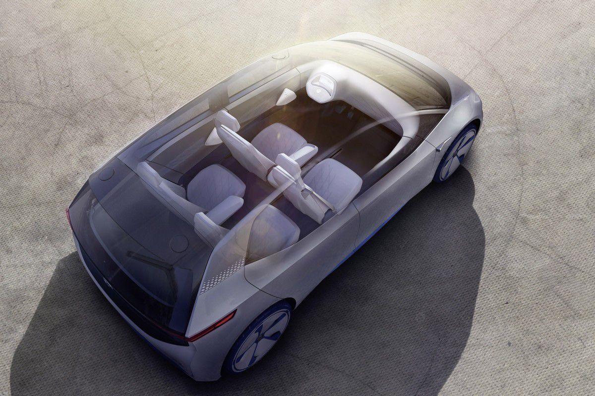 Le Volkswagen I. D (2016).