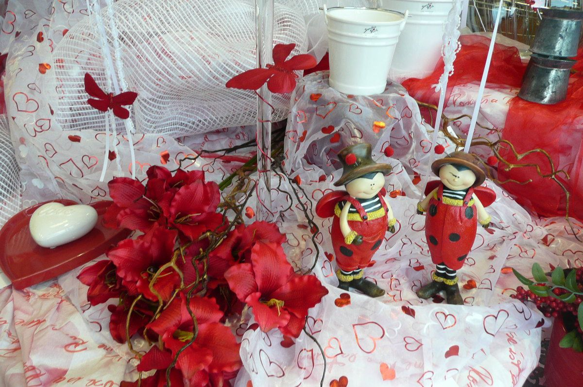 Decoration de table le blog abadeco for Deco table st valentin