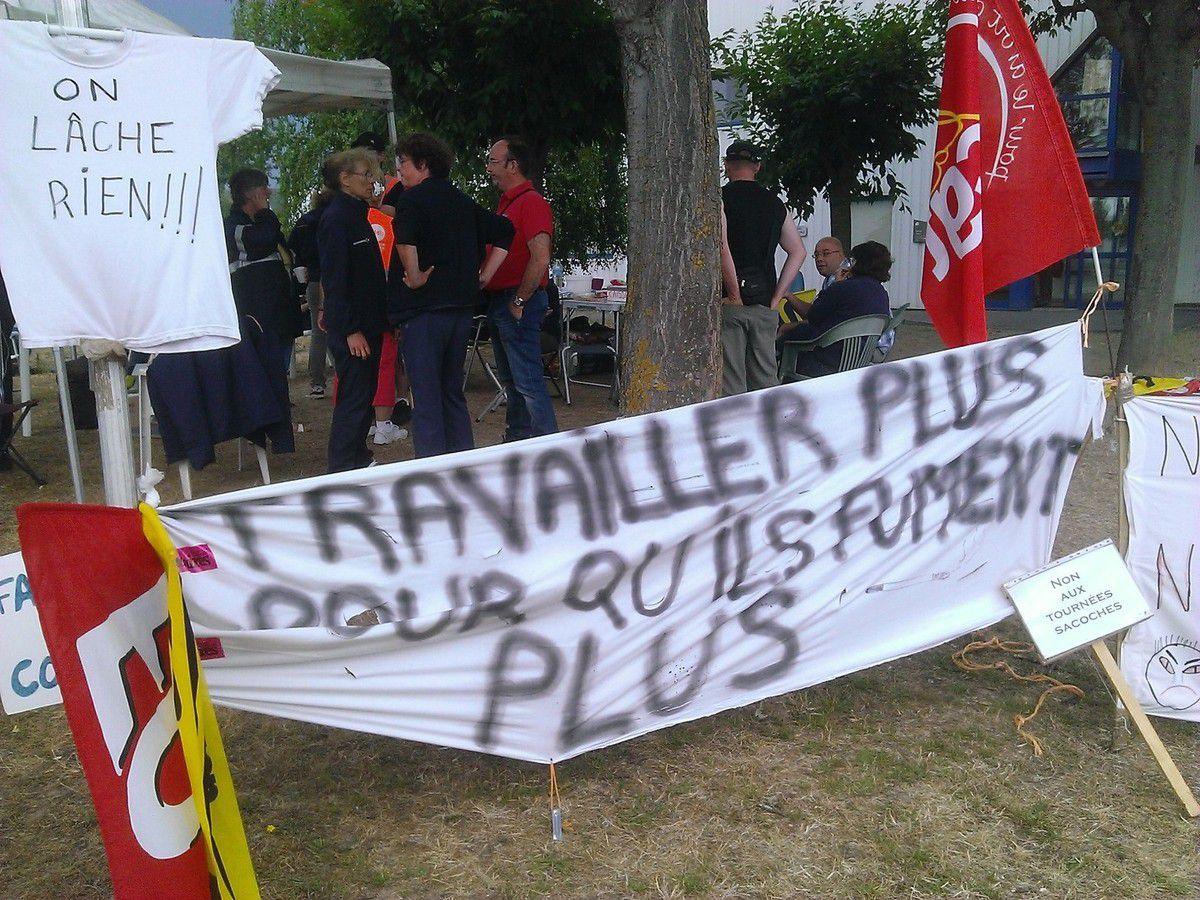 Postiers en grève: ils ne lâchent rien!