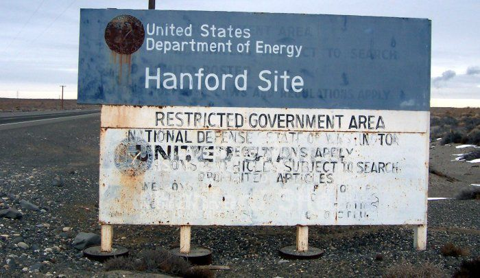 EFFONDREMENT SUR LE SITE NUCLEAIRE DE HANFORD (USA): UNE SITUATION PREOCCUPANTE
