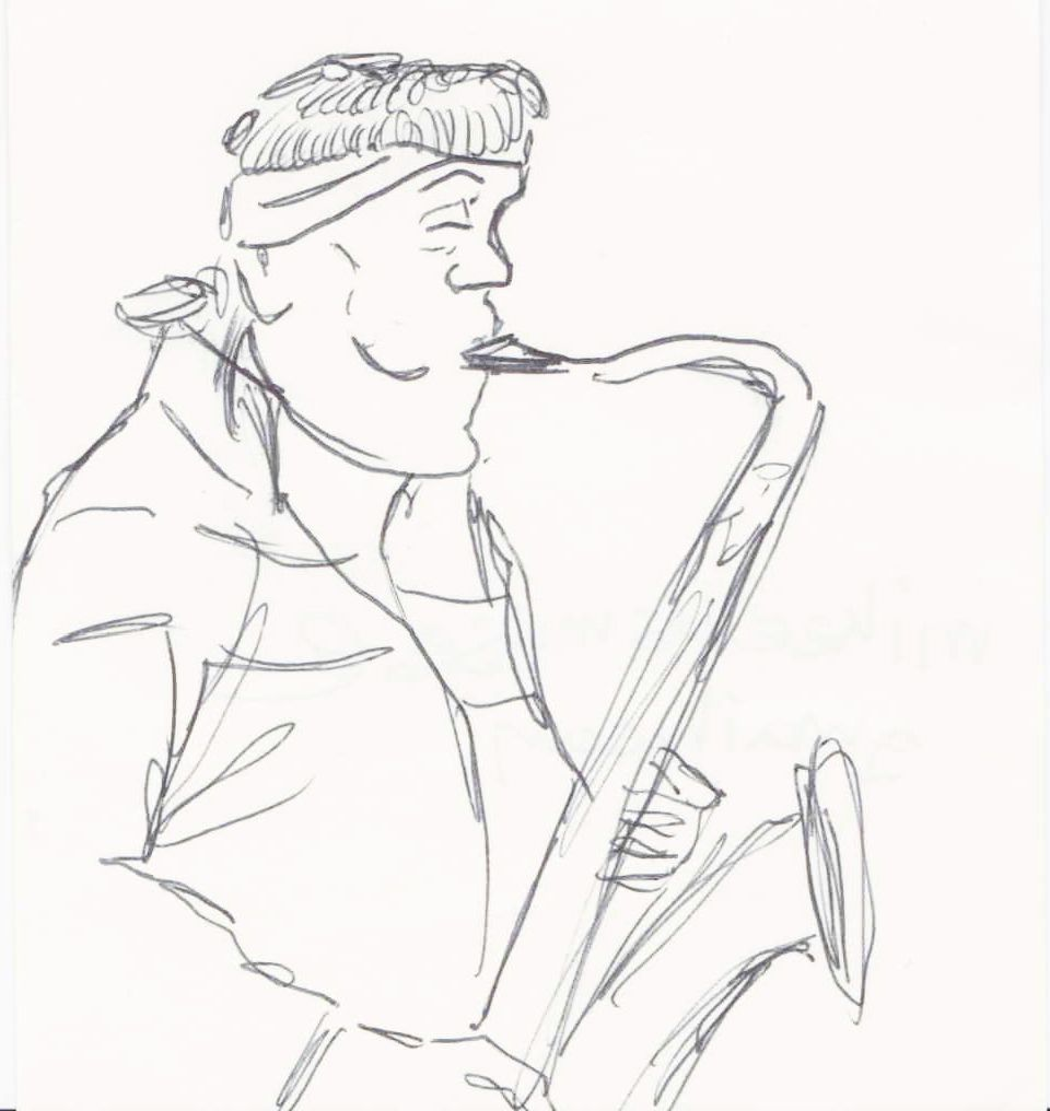 Mike Ellis (saxophone).