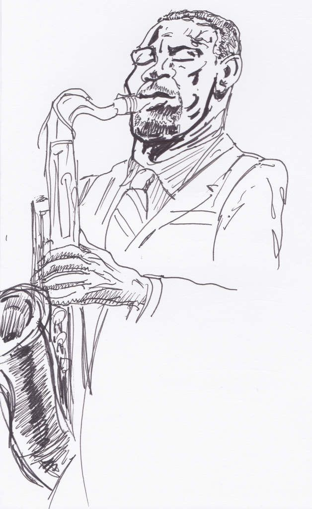 Mark Turner, saxophone.