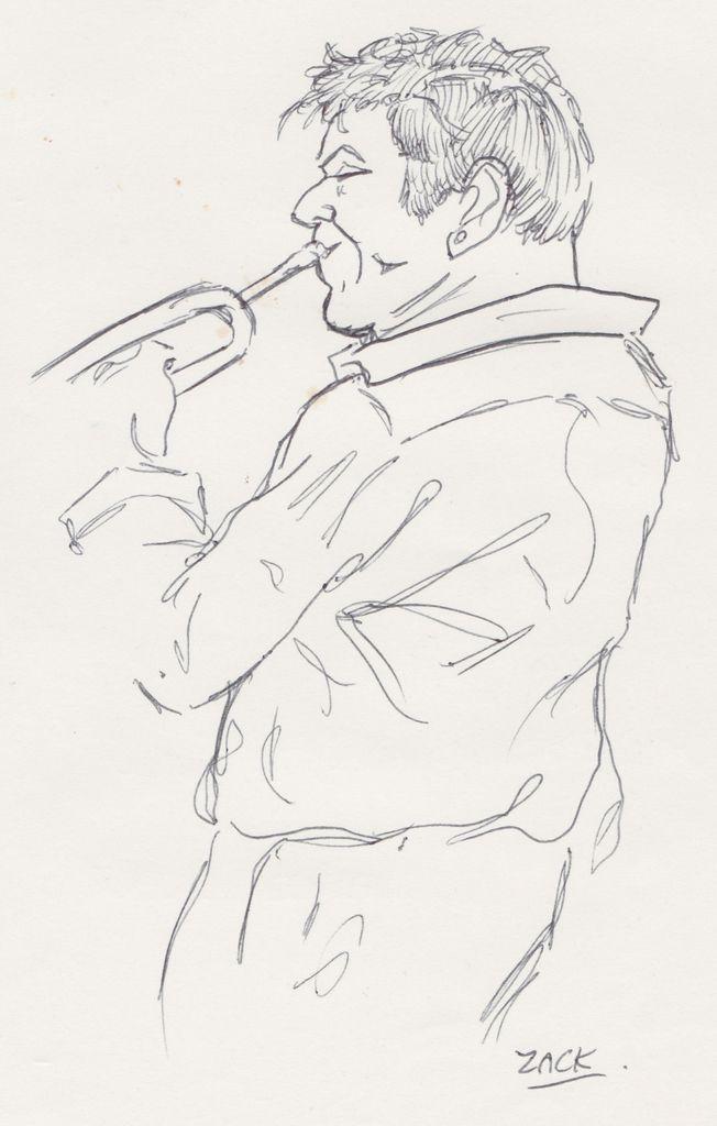 Yoann Loustalot (trompette, bugle).