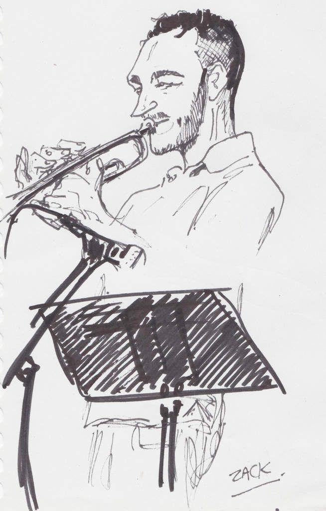 Olivier Gay (trompette, bugle).