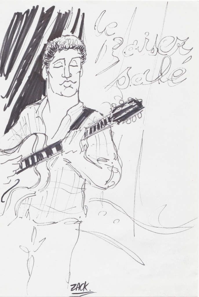 Thomas Boudé (guitare).