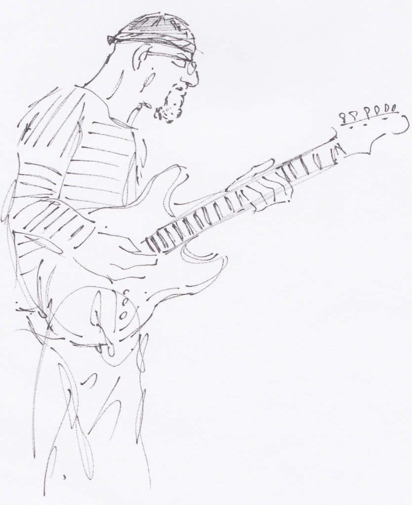 Jean-Michel Kajdan (guitare électrique).