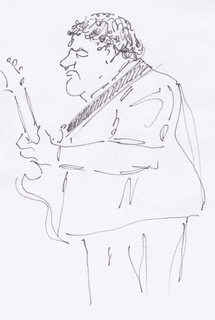 Jimi Drouillard (guitare, chant).