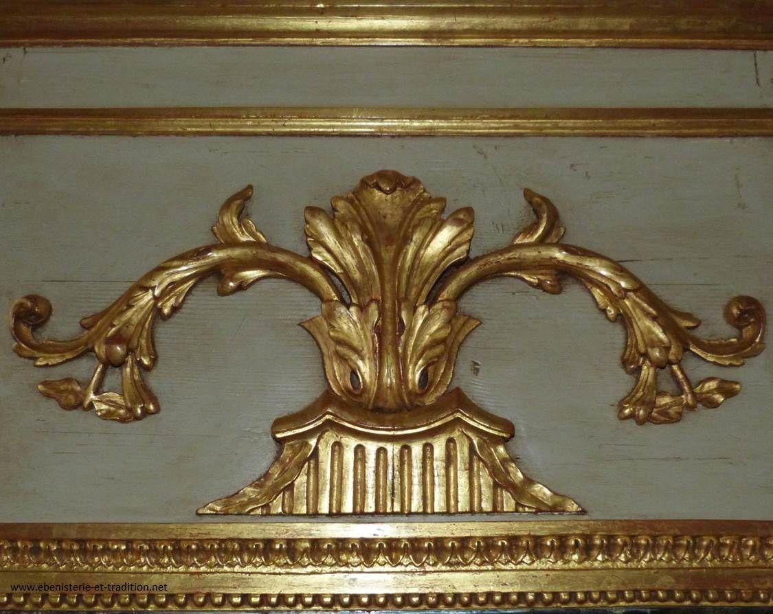Trumeau peint début XIXe