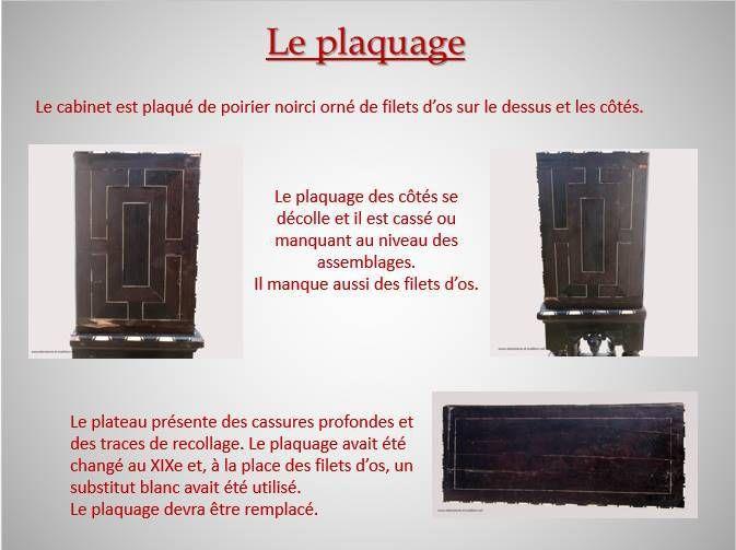 restauration cabinet flamand xviie restauration et vente de meubles anciens. Black Bedroom Furniture Sets. Home Design Ideas