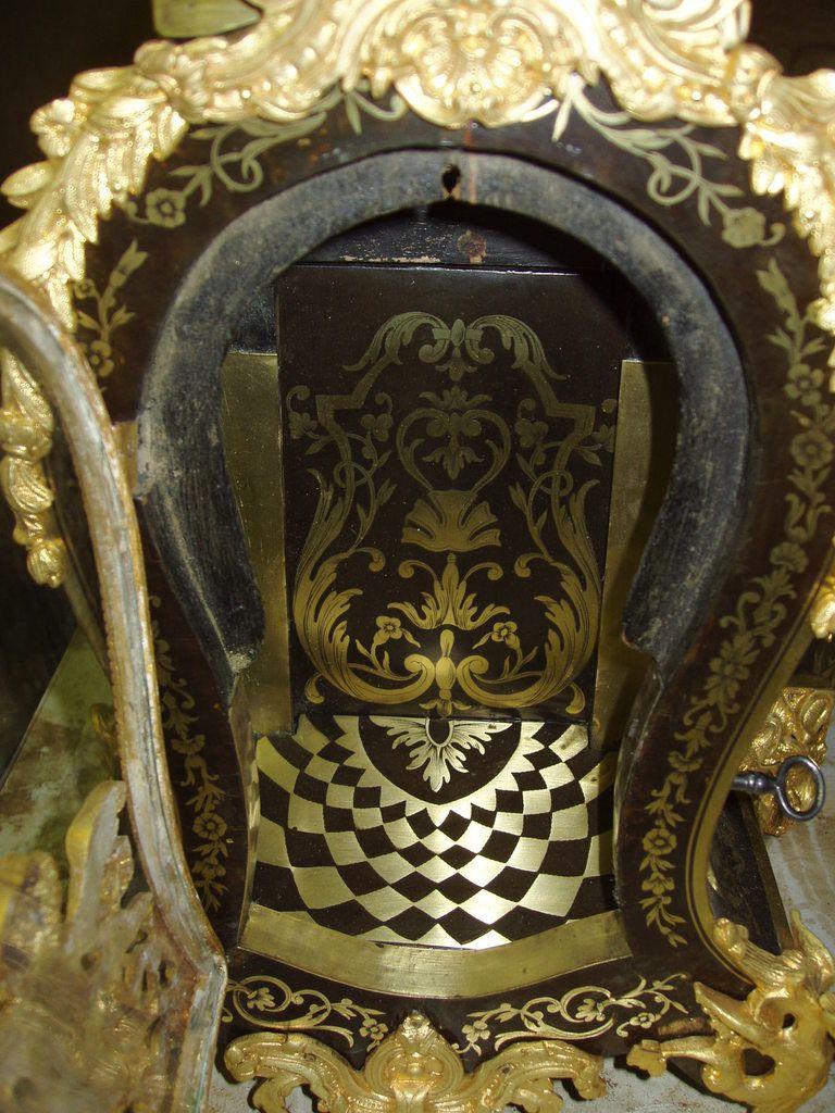 Restauration : Cartel Louis XV - Epoque Napoléon III