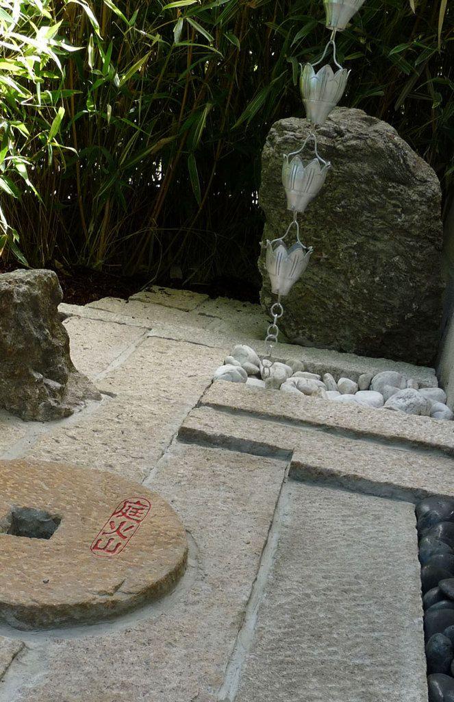 Dallage Japonais (  suite Chaîne de pluie )
