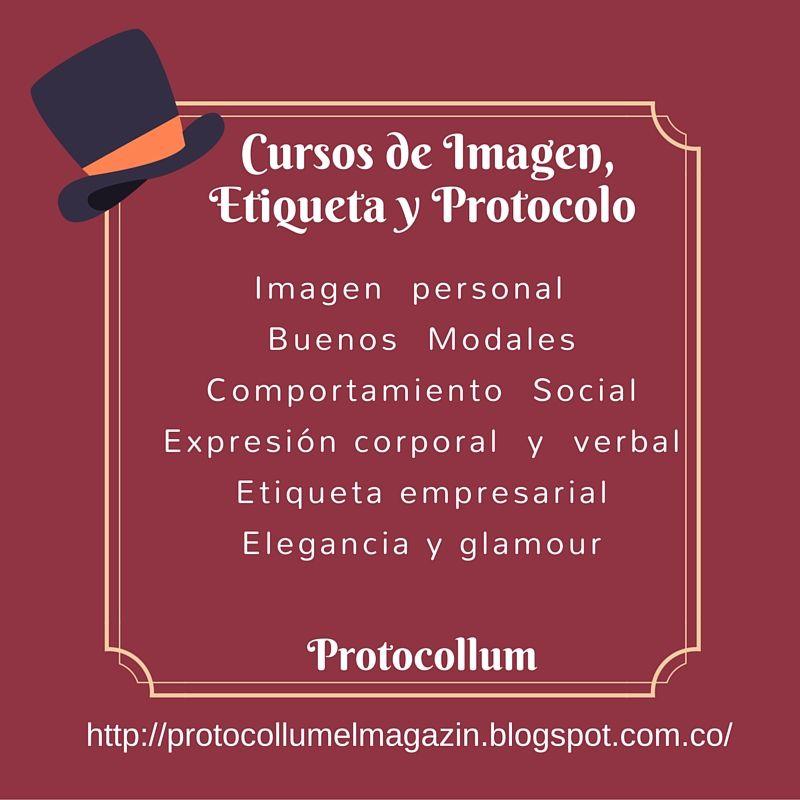 Cursos de Etiqueta, protocolo e imagen  empresarial.