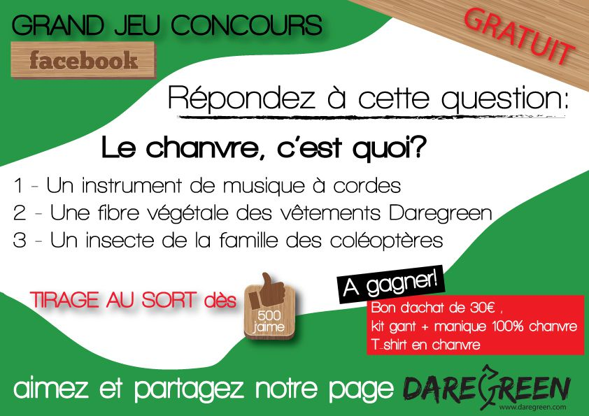 Councours Daregreen