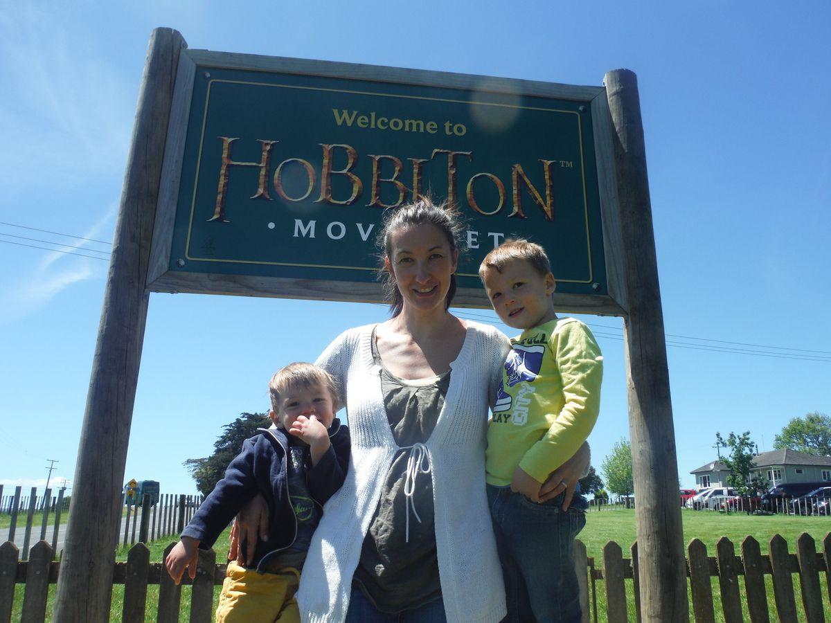 visite du village des Hobbits