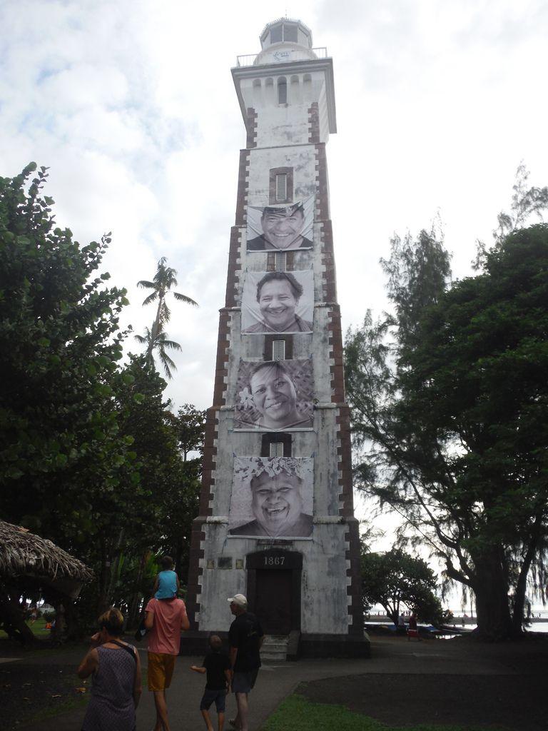 Le seul phare de Tahiti