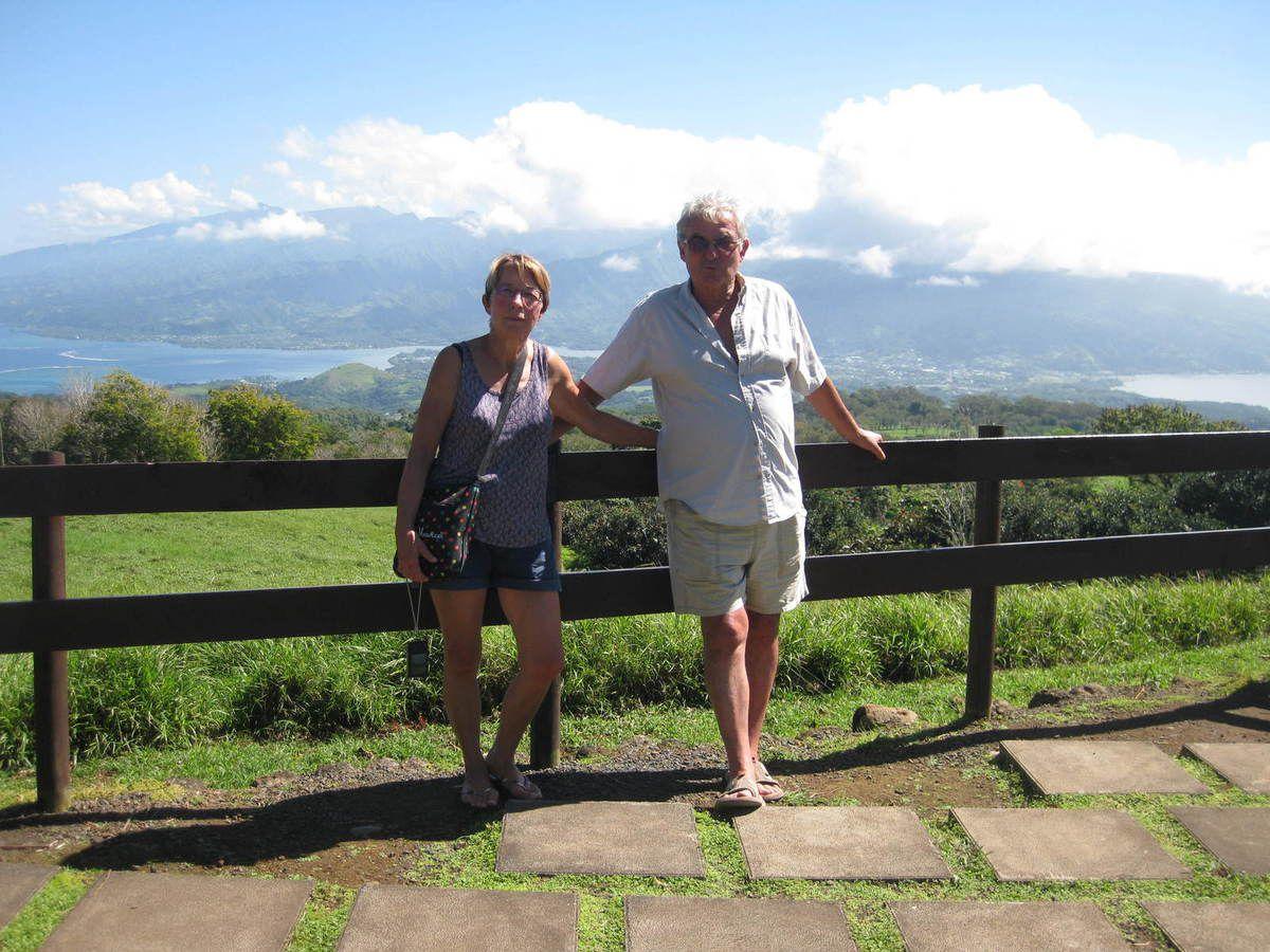 Le plateau de Taravao à la presqu'île