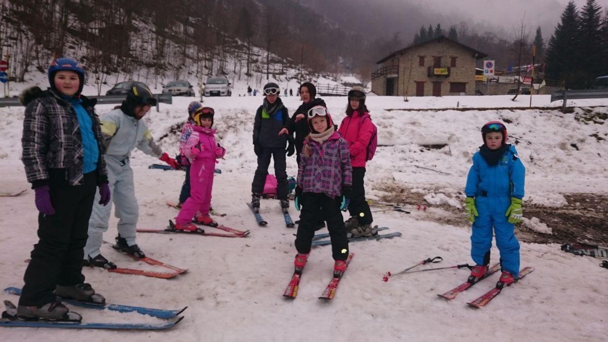 1ère journée de ski avec photos