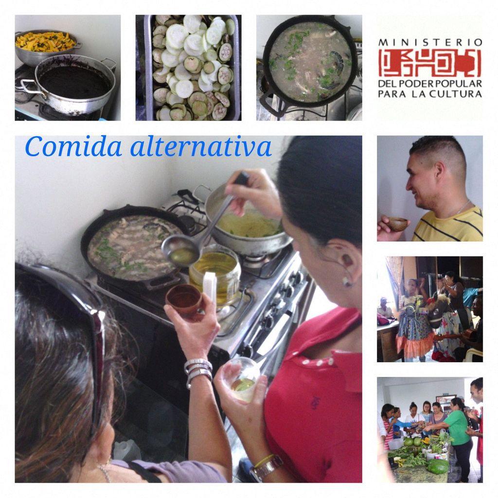 JORNADA GASTRONOMICA - COMIDA ALTERNATIVA. FOTOGRAFIAS. LCDA. BETZY ARNAUDES.