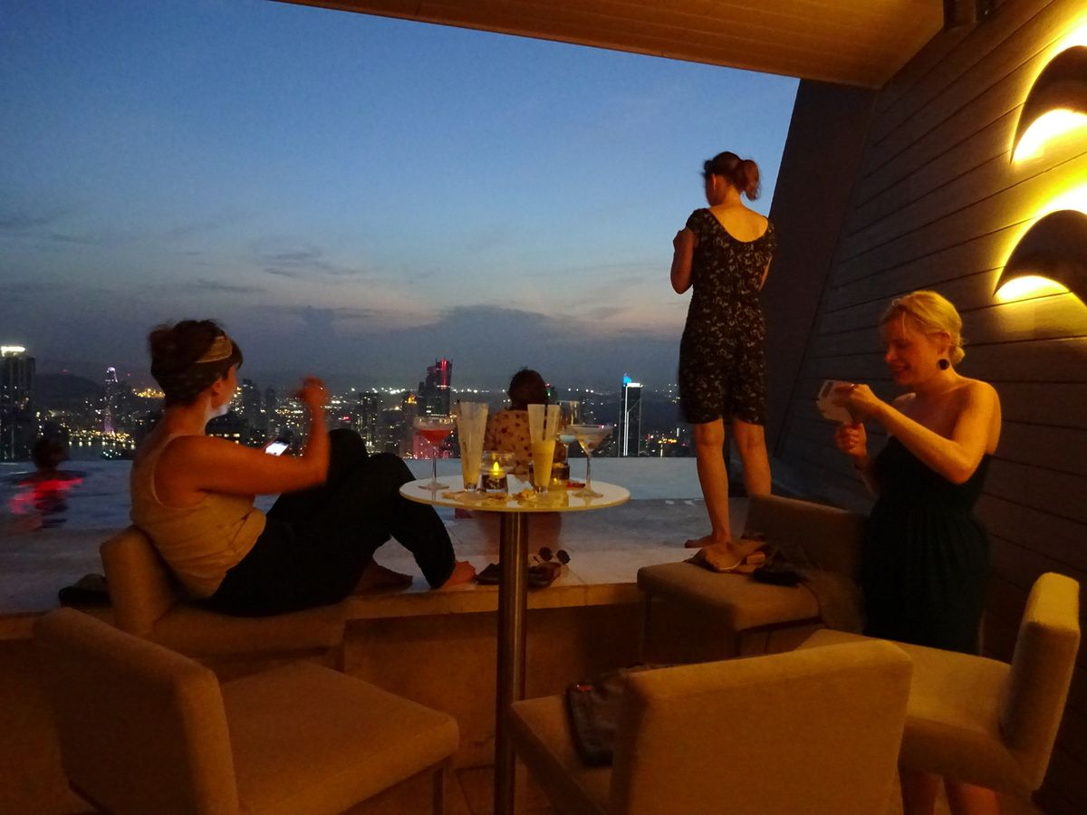Panama City - Trumptower - 66.Etage - Sundowner