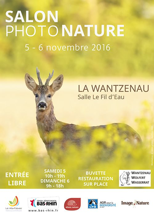 SALON PHOTO NATURE - LA WANTZENAU 5-6 novembre