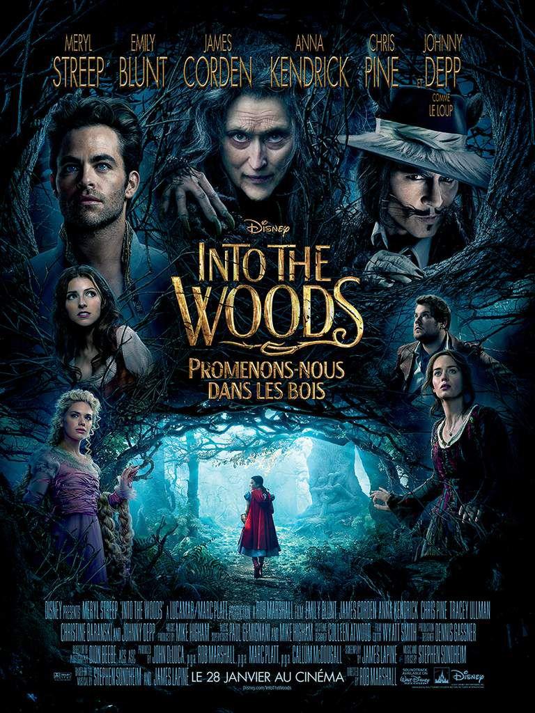 Into the Woods, Promenons nous dans les bois et La Nuit au Musée 3 / Revue de films