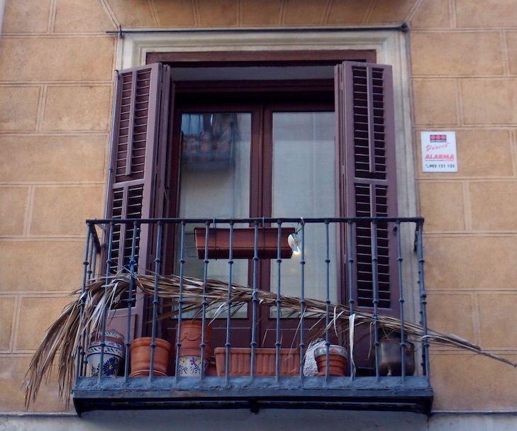 Les fenêtres de Madrid