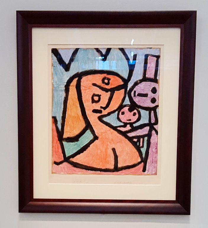 Méchante Maman - Paul Klee - 1939
