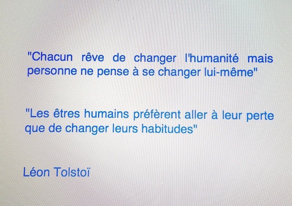 Changer le monde / Change the world