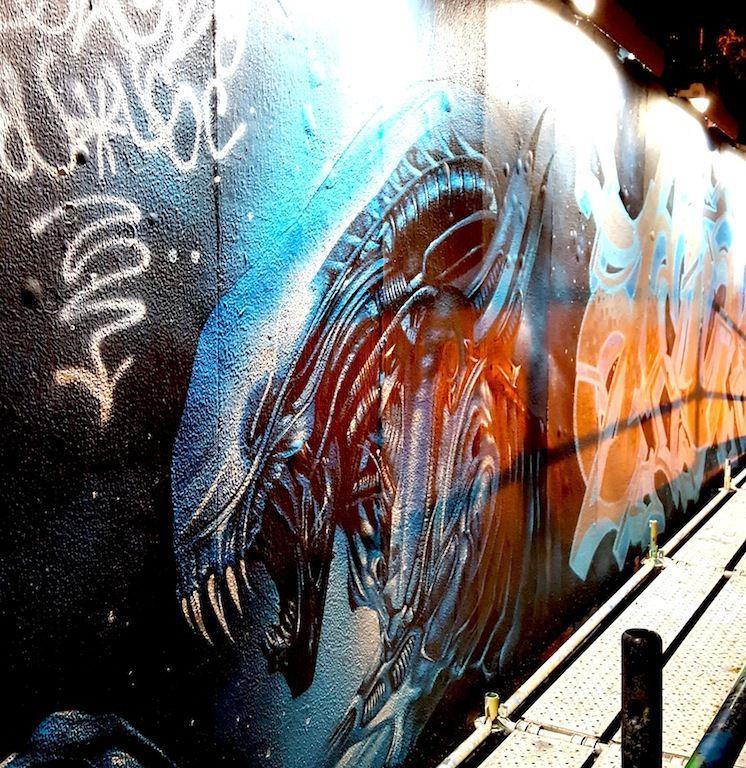 Magnifique Alien dans le Barrio Alto