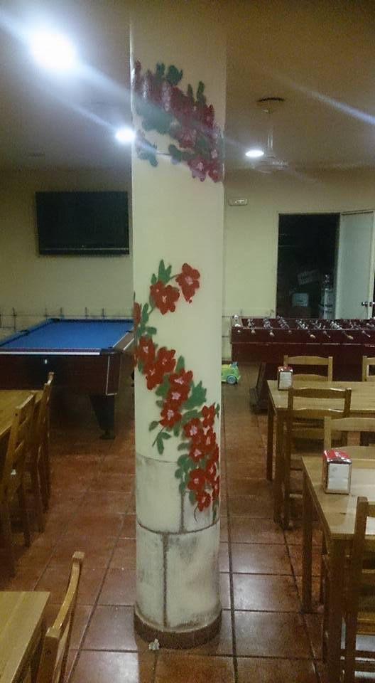 Decoracion en Local Rapitenc