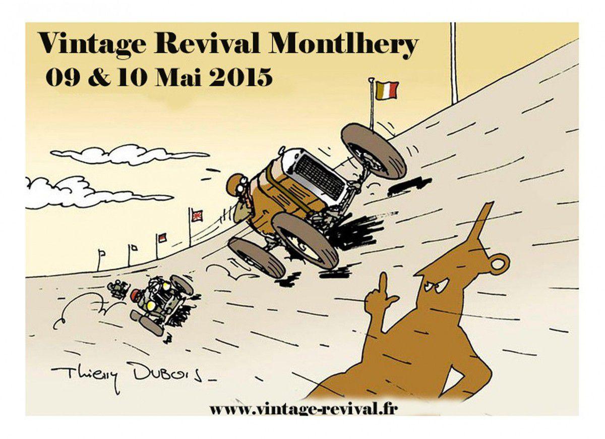 Le 8ème TROPHÉE Jacques POTHERAT présent au VINTAGE REVIVAL MONTLHÉRY 2015