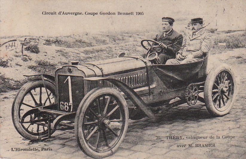 110 ans Coupe GORDON-BENETT , nommée aussi  Coupe Gordon Benett – Michelin