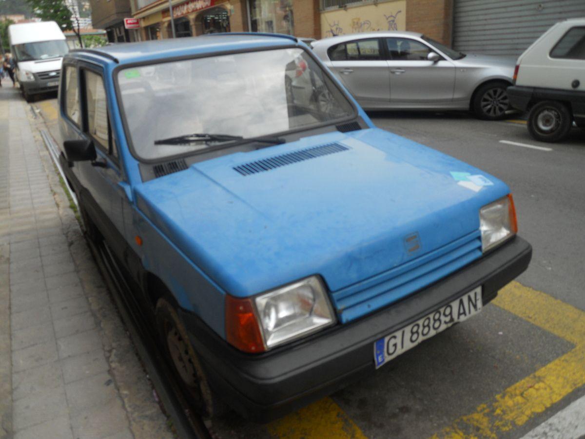 SEAT MARBELLA Série spéciale BLUE