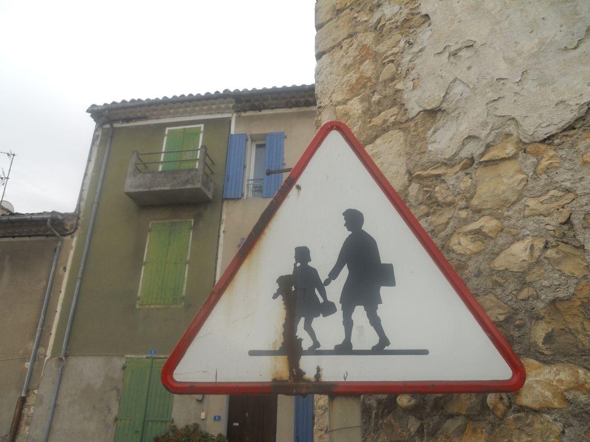 En pleine traversée du Gard, entre Nîmes et Alès,