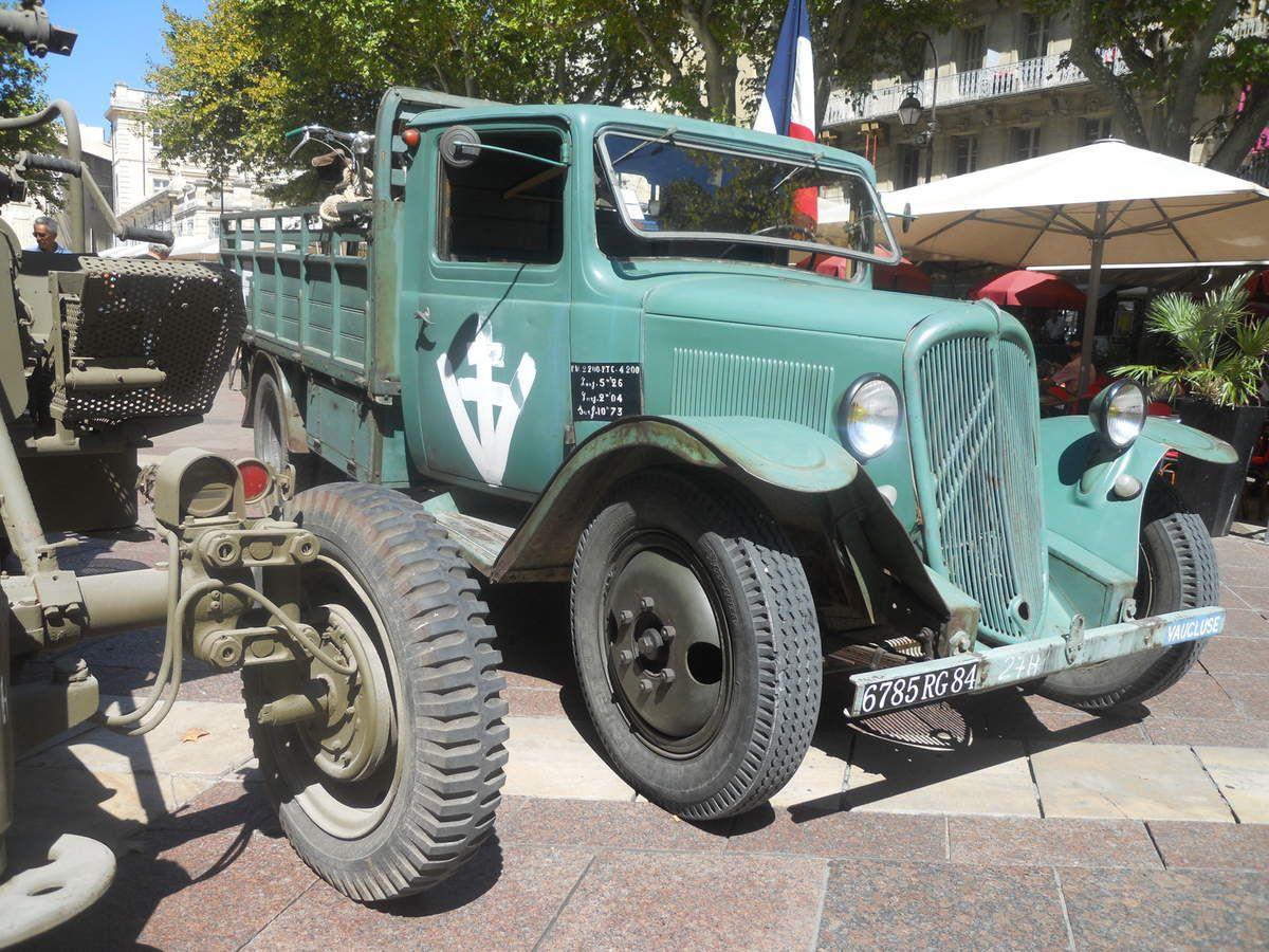 La commémoration de la Libération d'Avignon (1944 – 2015) c'était mardi.