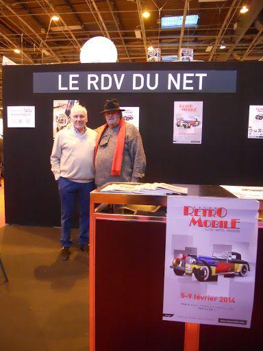 LE RENDEZ-VOUS DE LA REINE de Villeneuve lez Avignon invite ses amis à passer lui dire un petit bonjour  sur le stand « LES RENDEZ-VOUS DU NET »  à RETROMOBILE du 3 au 7 février 2016.