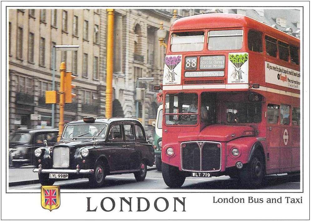 Le TAXI DE LONDRES
