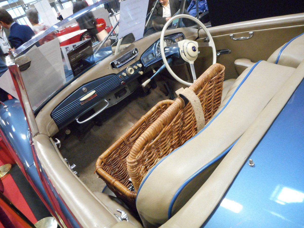 RETROMOBILE 2016, 3 confidentielles automobiles de la marque SUNBEAM
