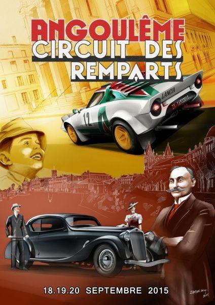 Cette semaine dans l'émission « DES RACINES et DES AILES », le Circuit international des Remparts d'Angoulême.