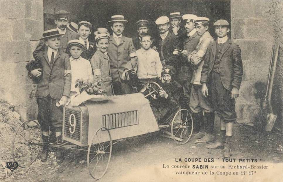 Du 5 juillet 1905 de la Coupe Gordon Bennett à LITTLE BIG MANS 2016