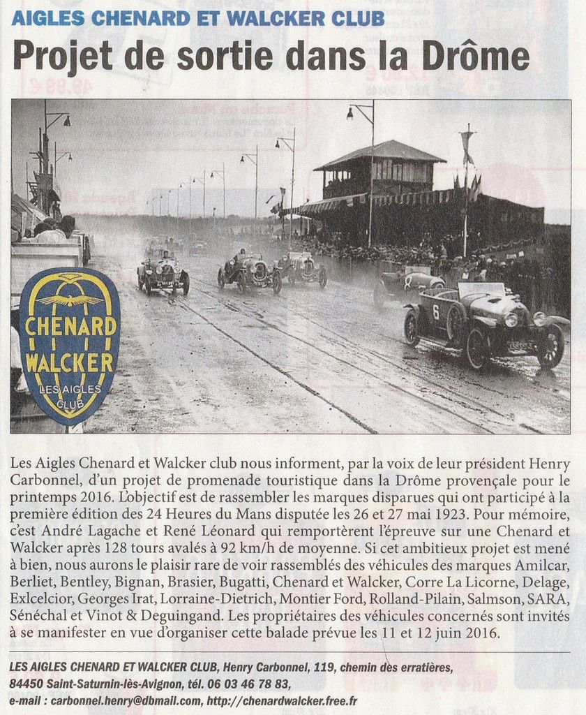 AUTOMOBILE CLUB DE L'OUEST (ACO)