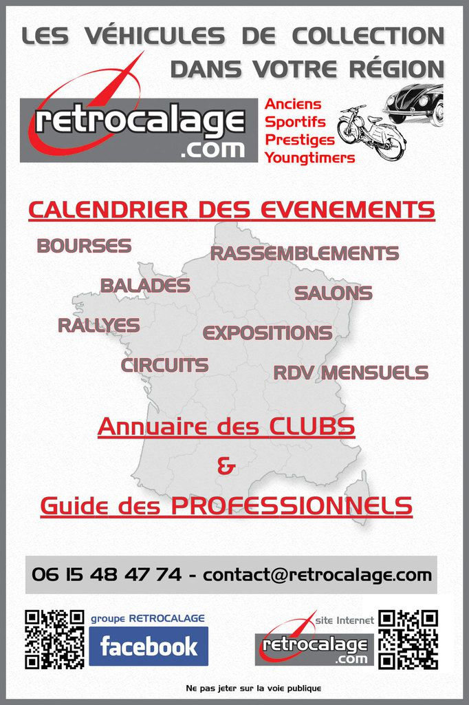 Newsletter RETROCALAGE.com - N°65 - Mars 2016