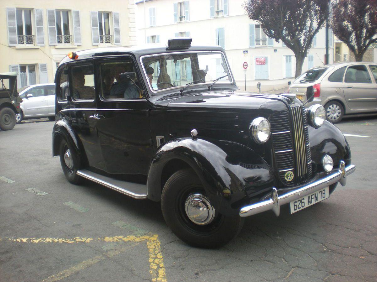 Recherche pour rouler en France des phares européens pour un TAXI ANGLAIS TX1